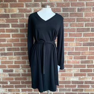 Isabel & Ingrid Maternity Black Long Sleeve Dress